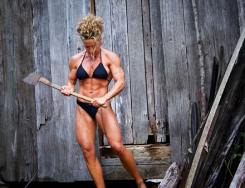 Miss Worlds' top Body Building Tips